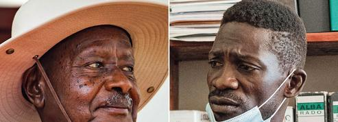 En Ouganda, duel entre le «dictateur merveilleux» et le «président du Ghetto»