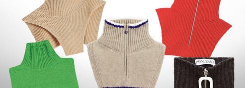 D'où viennent ces plastrons en laine qui fleurissent autour des cous?