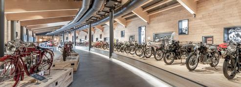 Le musée de la moto de Hochgurgl part en fumée