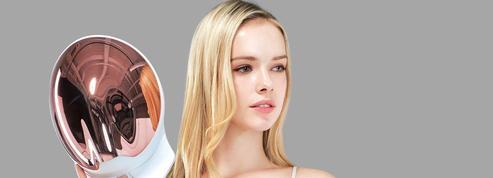 GLED: massage galvanique, luminothérapie et masque de soin pour une jolie peau