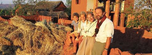 Alexandre Poussin, l'aventure en famille