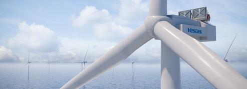 Champion de l'éolien, le danois Vestas dévoile une turbine géante en mer