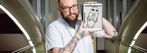 Xavier, l'infirmier en soins palliatifs qui célèbre la vie par le dessin