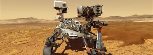 Le rover Perseverance commence son exploration de la planète Mars