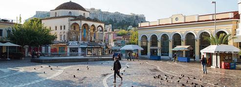 Malgré la crise, la Grèce parvient à emprunter à moindres frais