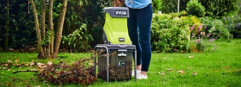 Essai : le broyeur de végétaux RYOBI RSH2545B