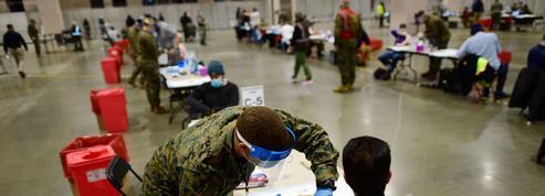 À Philadelphie, avec le renfort de l'armée, les injections se multiplient