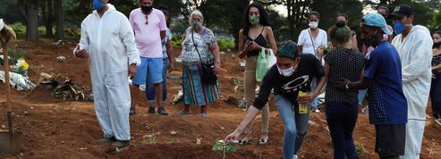 Au Brésil, l'épidémie de Covid-19 hors de tout contrôle
