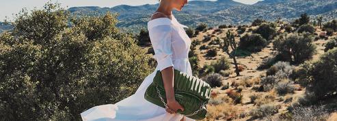 Amber Valletta: «Karl Lagerfeld était emballé par ce projet d'accessoires écoresponsables»