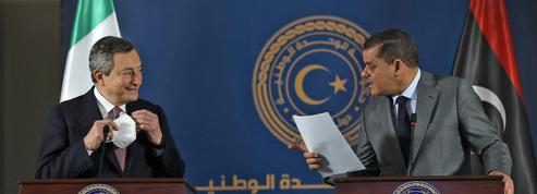 Mario Draghi à Tripoli pour retisser les liens avec la Libye