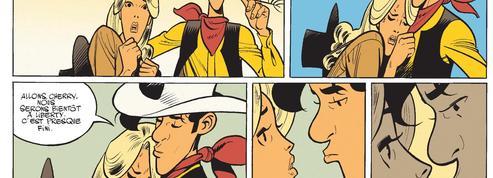 Wanted Lucky Luke de Matthieu Bonhomme, un cow-boy solitaire sous le feu de la passion