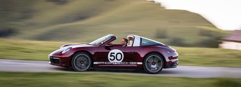 Porsche 911 Targa 4S, sous une bulle