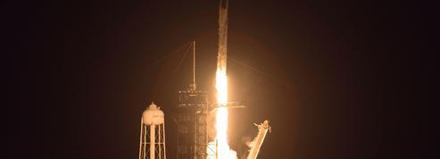 Thomas Pesquet a été mis sur orbite par SpaceX