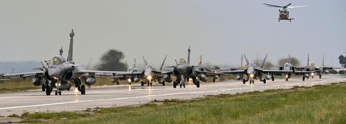 En Grèce, l'armée de l'air s'exerce à la guerre de haute intensité