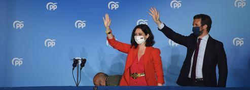 Madrid: cette droite plébiscitée d'avoir fait confiance à la liberté