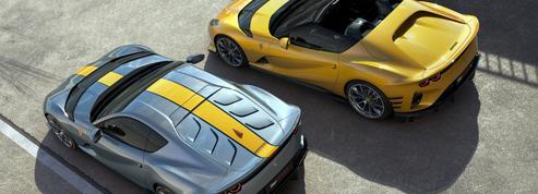Ferrari 812 Competizione et 812 Competizione A, les deux font la paire