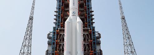 Hors de contrôle, une fusée chinoise retombe sur Terre