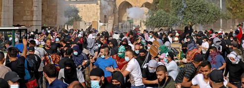 Conflit israélo-palestinien: Jérusalem épicentre des soulèvements