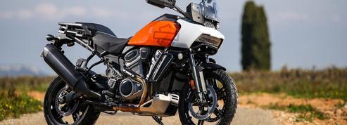 Harley-Davidson sort des sentiers balisés