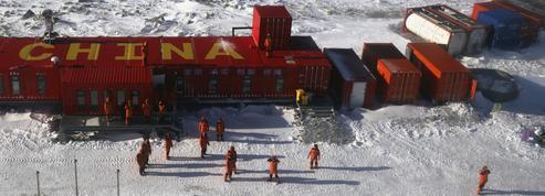 Antarctique: les Chinois étendent leur influence sur la banquise