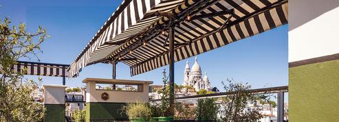 Brasserie et bar sur le toit de l'Hôtel Rochechouart