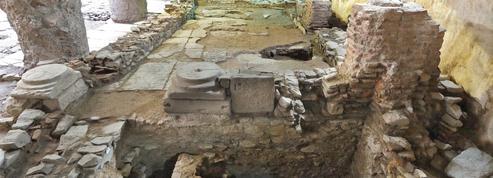 L'exceptionnelle ville byzantine découverte sous le sol de Thessalonique est menacée de destruction