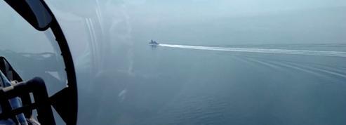 Accrochage en mer Noire entre les forces russes et un destroyer britannique