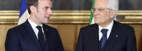 Mattarella à Paris pour sceller la réconciliation franco-italienne