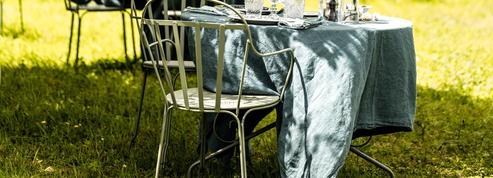 Déjeuner champêtre chez Catherine Deneuve