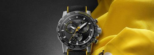 Tour de France: Tissot, maillot jaune du chronométrage