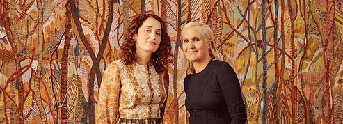 La Chambre de soie d'Eva Jospin, décor brodé sur mesure pour Dior