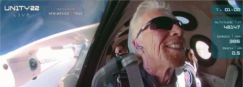 Richard Branson ouvre le marché du tourisme spatial