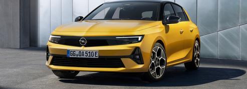 Opel Astra, une 308 rhabillée