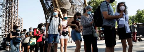 Covid-19: le timide retour des touristes étrangers en France