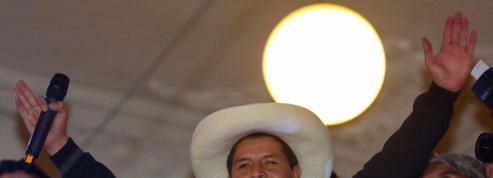 Le syndicaliste Pedro Castillo élu président au Pérou