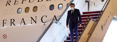 Les frais de déplacement de Macron ont fondu avec les confinements