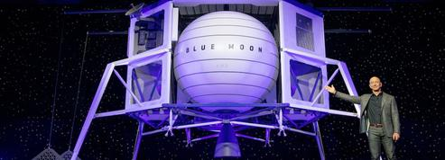 Jeff Bezos se bat pour décrocher la Lune