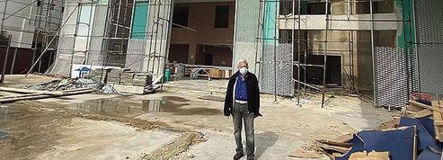 Liban: l'hôpital de la Quarantaine renaît de ses cendres à Beyrouth