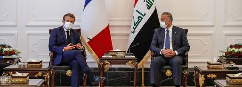 Le délicat retour d'Emmanuel Macron en Irak
