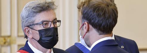 Marseille: comme Emmanuel Macron, Jean-Luc Mélenchon est aussi en campagne