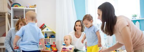 La crise a modifié les pratiques des cadres pour la garde d'enfants