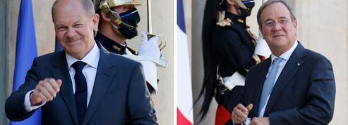 Emmanuel Macron sonde les candidats allemands