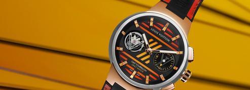 Louis Vuitton offre un tourbillon volant GMT unique pour la bonne cause