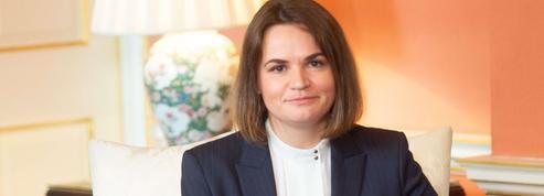 Svetlana Tikhanovskaïa vient remobiliser la France