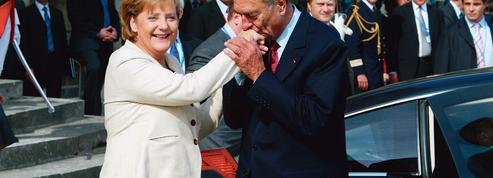 Merkel et les présidents français: de lunes de miel en crises de nerfs