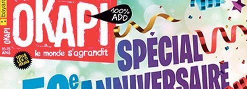 Okapi, le magazine des ados, fête ses 50ans