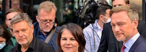 Allemagne: vers un gouvernement SPD-Verts-libéraux