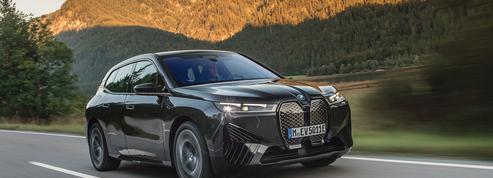 Avec le iX, BMW imagine le salon roulant