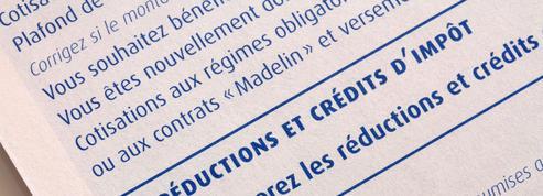 Réductions et crédits d'impôt : modifier l'avance reçue en janvier 2022 jusqu'au 8 décembre 2021