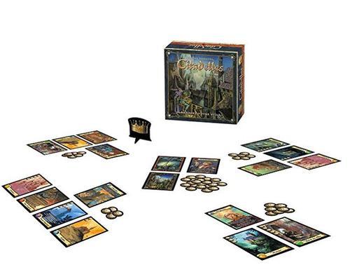 Bâtissez votre cité avec le jeu citadelles et devenez le plus riche. Amazon 13,50€